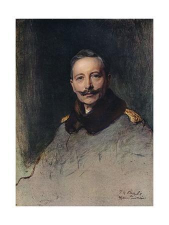 'Portrait of H.I.M. The German Emperor',1908