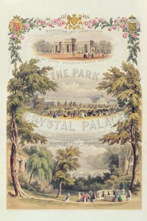 Frontispiece to 'The Park and the Crystal Palace', Pub. by Day and Son by Philip Brannon