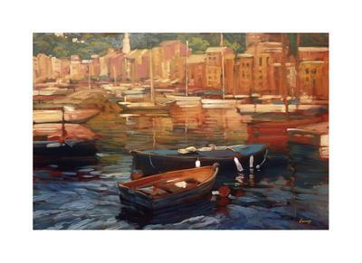 Anchored Boats, Portofino