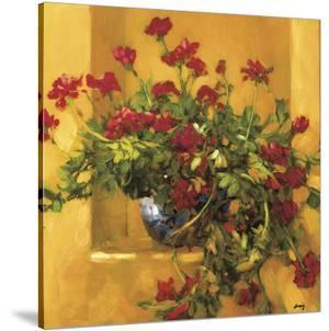 Ivy Geraniums by Philip Craig