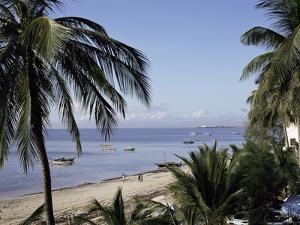 Bamburi Beach, Near Mombasa, Kenya, East Africa, Africa by Philip Craven