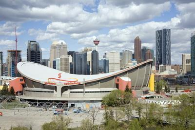 City Skyline, Calgary, Alberta, Canada, North America