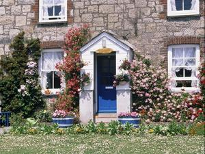 Cottage at Charlestown, Cornwall, England, United Kingdom by Philip Craven