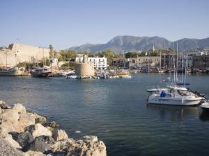 Fort and Harbour, Kyrenia, North Cyprus, Mediterranean, Europe by Philip Craven
