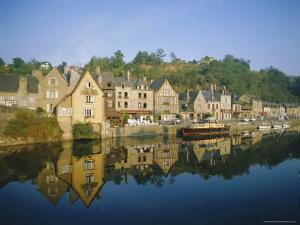 Port of Dinan, La Rance, Brittany, France, Europe by Philip Craven