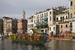 Regatta, Grand Canal, Venice, UNESCO World Heritage Site, Veneto, Italy, Europe by Philip Craven