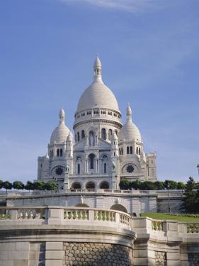 Sacre Coeur Basilica, Paris, France, Europe by Philip Craven