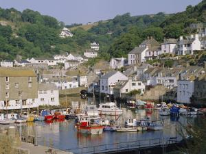 The Harbour and Village, Polperro, Cornwall, England, UK by Philip Craven