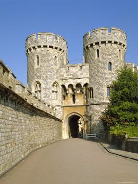 The Norman Gate, Windsor Castle, Berkshire, England, UK by Philip Craven