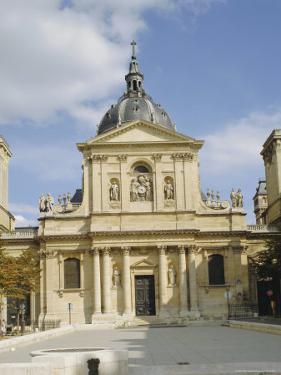 The Sorbonne, Paris, France, Europe by Philip Craven