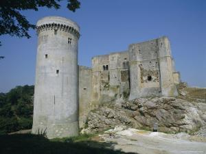 Tower and Keep of the Castle at Falaise, Birthplace of William the Conqueror, France by Philip Craven