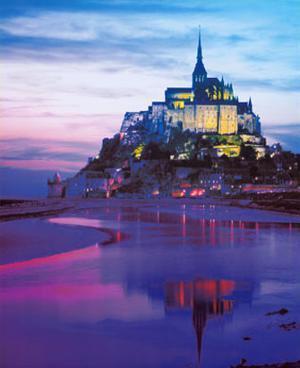 Mont St. Michel, France by Philip Enticknap
