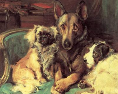 Best Friends by Philip Eustace Stretton