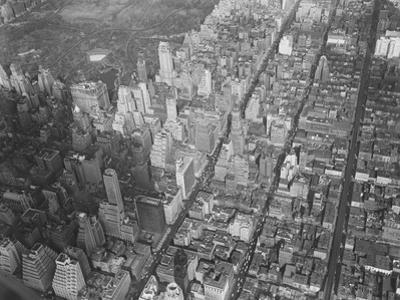 Aerial View of Manhattan by Philip Gendreau