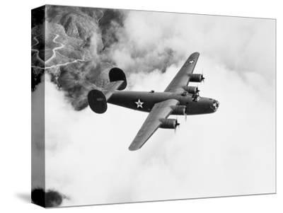 B-24 Liberator Flying by Philip Gendreau