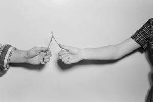 Breaking a Wishbone by Philip Gendreau