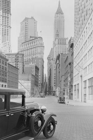 Car on Wall Street