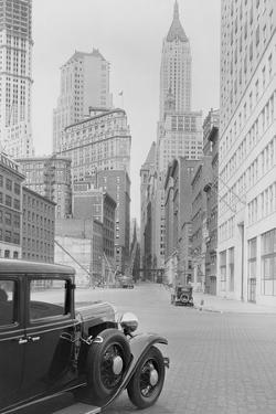 Car on Wall Street by Philip Gendreau