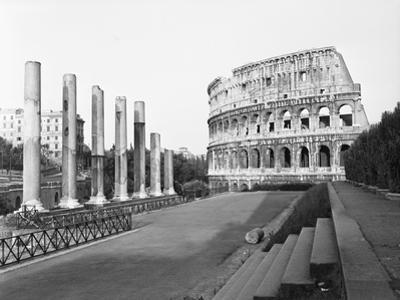 Colosseum from Temple by Philip Gendreau