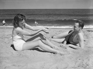 Couple at the Beach by Philip Gendreau