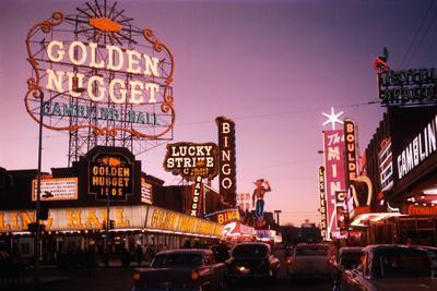 Fremont Street in Las Vegas