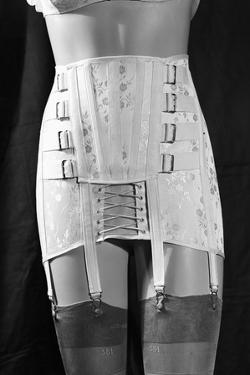 Girdle with Garters Displayed on Mannequin by Philip Gendreau