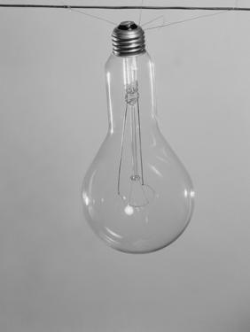 Incandescent Electric Light Bulb with Tungsten Filling by Philip Gendreau