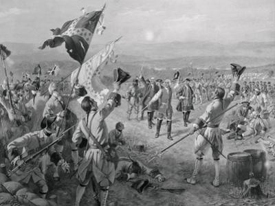 Marquis De Montcalm and His Troops by Philip Gendreau