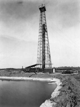 Oil Drilling Rig by Philip Gendreau