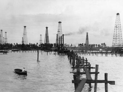 Oil Pumping Machines in Oil Fields by Philip Gendreau