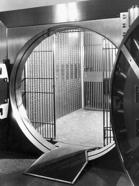 Open Bank Vault Door by Philip Gendreau