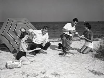 Picnic on the Beach by Philip Gendreau