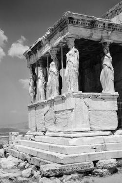 Porch of the Caryatids at the Erechtheion by Philip Gendreau