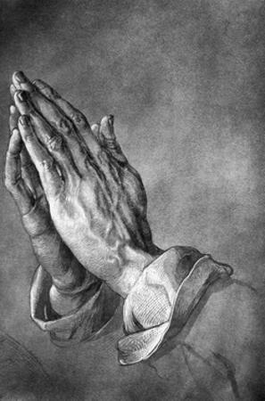 Study of Praying Hands by Albrecht Durer by Philip Gendreau