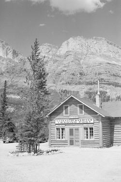 Trading Post near Tree Lined Mountains by Philip Gendreau