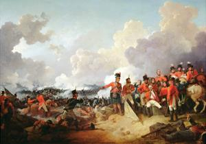 Battle of Alexandria, 21 March 1801, 1802 by Philip James De Loutherbourg
