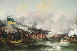 Landing of British Troops at Aboukir, 8 March 1801, 1802 by Philip James De Loutherbourg