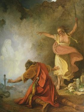 Saul and the Witch of Endor, 1791 by Philip James De Loutherbourg