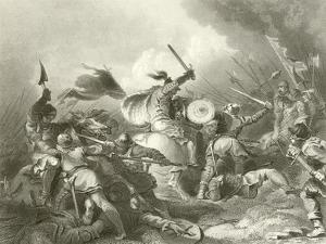 The Battle of Hastings by Philip James De Loutherbourg