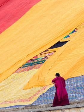 Labrang Monastery Monk, Xiahe, Gansu Province, China by Philip Kramer