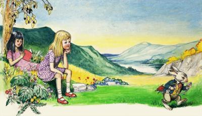 Alice in Wonderland by Philip Mendoza