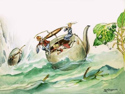 The Borrowers by Philip Mendoza