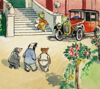 The Wind in the Willows by Philip Mendoza
