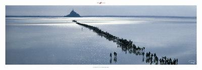 Le Mont a la Saint-Michel