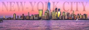 Manhattan at Sunrise by Philip Plisson