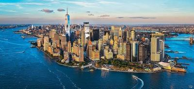 New York between Sky & Sea by Philip Plisson
