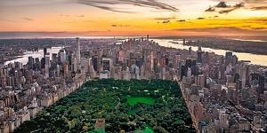 New York & Central Park by Philip Plisson