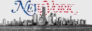 New York Skyline by Philip Plisson