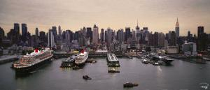 New York Terminal Liner by Philip Plisson