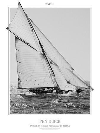 Pen Duick by Philip Plisson